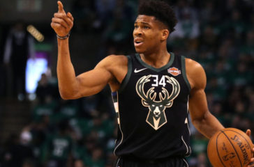 Giannis Antetokounmpo Looks Human in Game 1